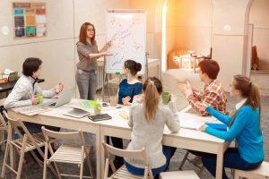 workshops and facilitating